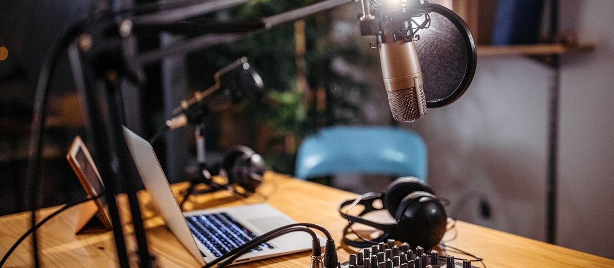 Podcast set-up