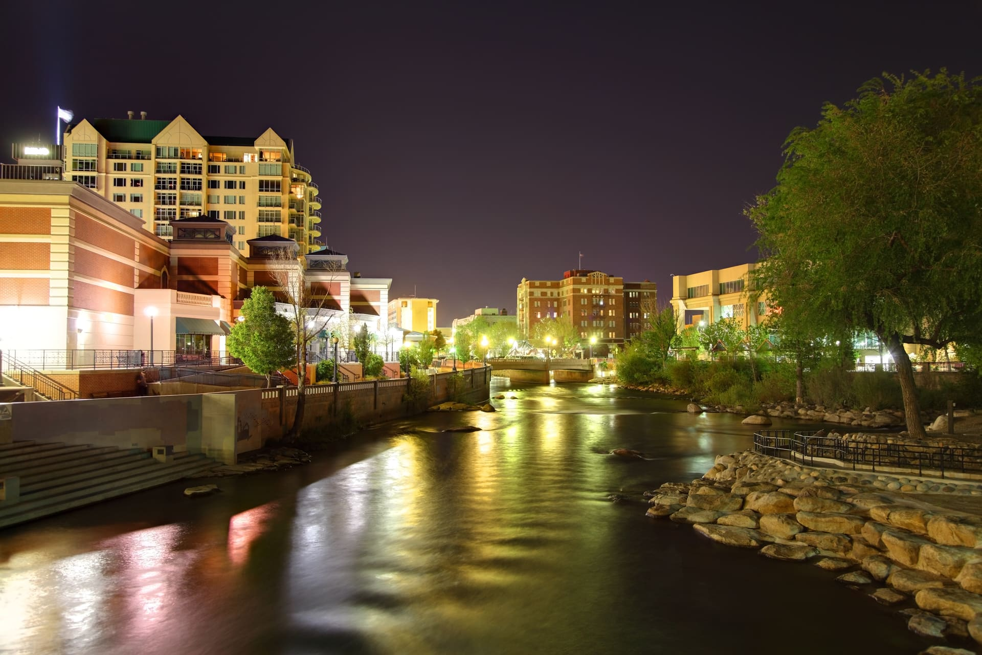reno from the truckee river